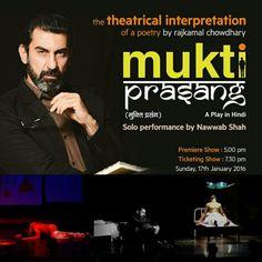 Mukti prasang play Dedigned sets, lights and visuals
