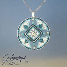 Azulejos  pendant tutorial by Happyland87