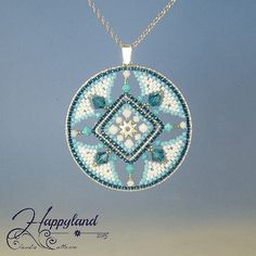 Azulejos  pendant tutorial by Happyland87