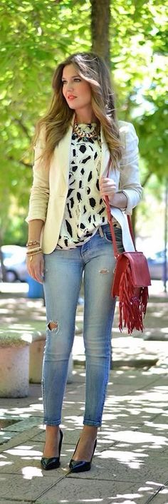 Skinny's & blazer