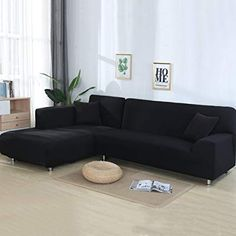 2 Pcs l Shaped Sofa Cover Corner Couch Slipcover Stretch Furniture Covers Silod Color Elastic Sofa Covers For Living Room. Category: Home & Garden. Product ID: Sofa Couch, Living Room Sectional, Sofa Slipcovers, Living Rooms, Furniture Covers, New Furniture, Luxury Furniture, Office Furniture, Clean Couch
