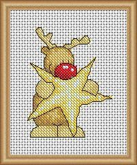 Rudolph - Star chart