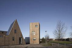 Micro House Slim Fit / ANA ROCHA architecture. © Christiane Wirth