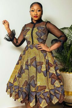 Fascinating Ankara Styles for All Weather and All Occasions African Dresses For Kids, Latest African Fashion Dresses, African Dresses For Women, African Print Fashion, Africa Fashion, Women's Fashion, African Wedding Attire, African Attire, Beautiful Ankara Gowns
