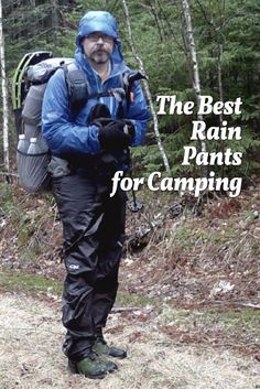 Our usual mindset as outdoor's people is to think about raingear.  But while we usually are most concerned about keeping our head and torso dry, we often take our legs for granted. The fact of the matter is that most hikers should and could be wearing rain pants more frequently than the full raingear. The reason is simple.