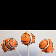 Finding Nemo cake pops perfect for child's birthdays
