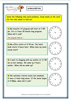 Grade 3 maths worksheets on Time Problems with answer key print them or pin it   Time worksheets, Time word problems, Worksheets for grade 3 Time Worksheets Grade 3, Printable Math Worksheets, Kindergarten Worksheets, Time Word Problems, Math Words, Math Notebooks, 2nd Grade Math, Third Grade, Lightning Bolt