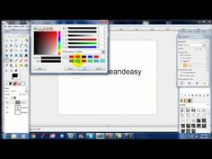 How to make easy logos using GIMP. Beginner tutorial. Customize word press themes - YouTube