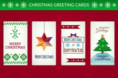 Check out Christmas greeting cards by desenart on Creative Market