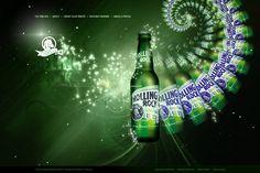 Rolling Rock Beer.
