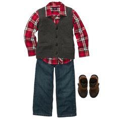 Santa's Tree Farm | Kid Boy Holiday...christmas outfit jay