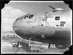 "B-29 ""Southern Belle""  nose art"
