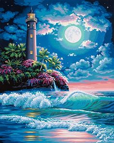 This is a Paint by Number kit that I would like.....found at Amazon.com  Dimensions Needlecrafts Paintworks Paint By Number, Lighthouse In Moonlight Dimensions Needlecrafts http://www.amazon.com/dp/B0039Y4UZK/ref=cm_sw_r_pi_dp_82GJub1R5V6YJ