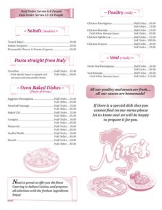 Box Lunch Menu Template  Box Lunch Menu  Download Now Pdf