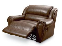 Product Softaly Colorado Leather Match Recliner Chair And