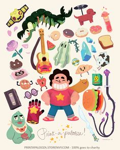 Steven's Favorite Things · Print a Palooza · Online Store Powered by Storenvy