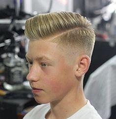Voici les Meilleures Coupes Cheveux Pour Votre Garçon de 12 Ans plus !   Coiffure simple et facile