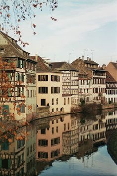 travelingcolors:  Quai de la Bruche, Strasbourg | France (by Jules Rigobert)