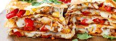 Wpis na blogu Quesadilla, Sandwiches, Food, Gastronomia, Quesadillas, Essen, Meals, Paninis, Yemek