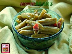 Kandy's Kitchen Kreations: Bacon Bit Beans