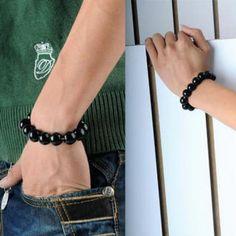 Beaded Bracelet Initial Pendant, Initials, Jewelry Design, Beaded Bracelets, Diamond, Accessories, Fashion, Moda, La Mode