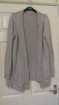 2bfc0ae2023 Womens grey open cardigan Size 14 Bhs Used Excellent condition Postage Any  questions please ask