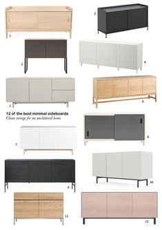 scandinavian furniture 12 of the best minimal, Scandinavian-style sideboards Design Furniture, Furniture Layout, White Furniture, Unique Furniture, Furniture Stores, Furniture Ads, Plywood Furniture, Contemporary Furniture, Outdoor Furniture