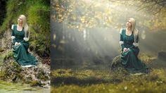 Photoshop CC Tutorial Photo Manipulation with Light Rays Effect