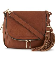 ALDO Kahaluu leather saddle bag