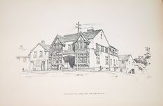 A book of architectural and decorative drawings: Bertram Grosvenor ...