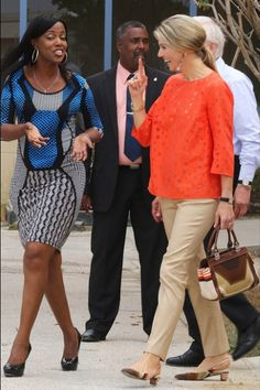 Queens & Princesses - King Willem Alexander and Queen Maxima visited the Netherlands Antilles to celebrate the 200 years of the Kingdom of the Netherlands. Last Day (Aruba)