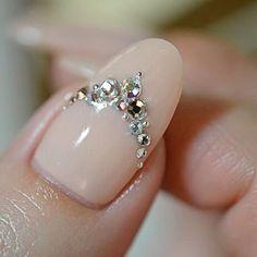 Wedding Nails 20 Rose Quartz Nail Designs for 2016 # uñas # ideas Fabulous Nails, Gorgeous Nails, Pretty Nails, Perfect Nails, 3d Nails, Love Nails, How To Do Nails, Chic Nails, Nail Art Designs