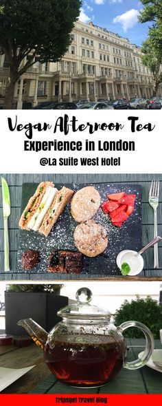 Vegan afternoon tea in London