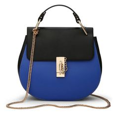 Blue contrast handbags in the Handbags   Bags category for sale in Outside  South Africa ( 58760df4107e8