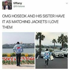 Hoseok and his sister out-goals all siblings relationship out there