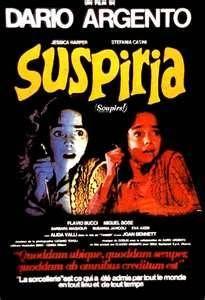 Suspiria. A favorite of creepy old films.