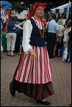 Latvian Folk Costume