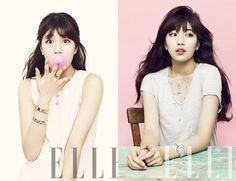 국민 첫사랑 수지, 러블리한 주얼리 화보 공개 .pink,suji,miss A,korea