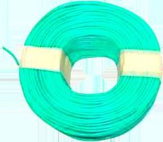 PVC Wire | PVC Coated Wire | PVC wire manufacturers : SHINESTAR PVC Coated Wire made by coating PVC granules on GI wire . These are resistant & fire retardant with good insulation properties .  Applications:  Manufacture of Chain Link fence used in tennis courts , highway , gardens , farms , poultry sheds. Farms of tomatoes , grapes , vines & creepers for support & trellises. | visagavel