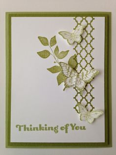 Stampin' in the Sun: Beautiful and Simple with Summer Silhouettes and Papillon Potpourri