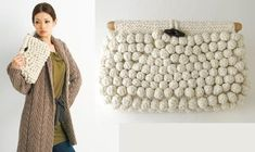 Knobbly Knitted Purse : http://womenworld.com.ua/vyazanye-sumki