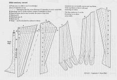 Class Corset – adjusting the pattern size 18th Century Stays, 18th Century Dress, 18th Century Costume, 18th Century Clothing, 18th Century Fashion, Historical Costume, Historical Clothing, Historical Dress, Clothing Patterns