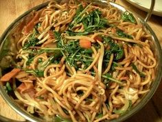 Chinese noodle stir fry