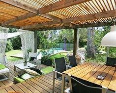 Overdækket terrasse ja tak