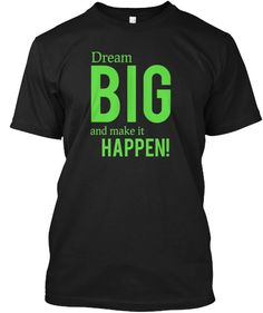 Limited edition. Get my new Dreamers t-shirt via Teespring.com