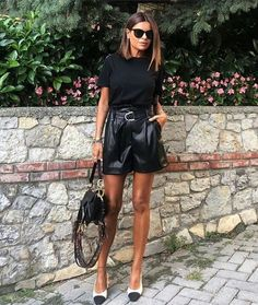 Fall Fashion Outfits, Mode Outfits, Short Outfits, Look Fashion, Spring Outfits, Autumn Fashion, Girl Fashion, Womens Fashion, Fashion Tips