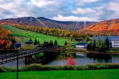 Discover Killington, Vermont . Amazing colors #FamTravel