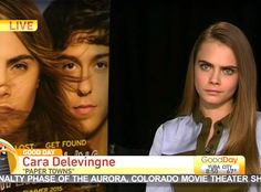 Watch: Cara Delevingne has painfully awkward interview while promoting 'Paper Towns'