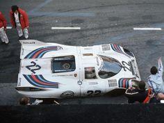1971.24 Hours Le Mans. Winner car Porsche 917 K #053.Driven by Helmut Marko (A)Gijs van Lennep (NL)-Not too broad for the pilot...
