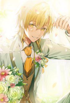 """十七夜よう trên Twitter: """"薫くん… """" Anime Boys, Manga Anime, Cute Anime Guys, Manga Boy, I Love Anime, Anime Boy Smile, Anime Male, Blonde Anime Boy, Anime Suit"""